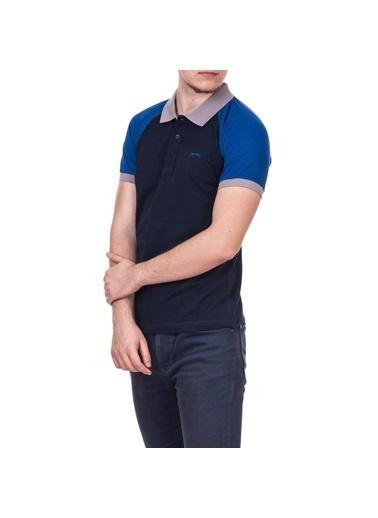 Slazenger Slazenger ARA Erkek T-Shirt  Lacivert
